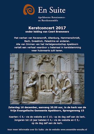 Poster Kerstconcert 2017